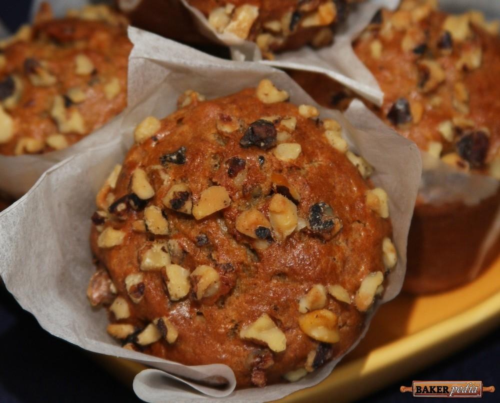 Banana Nut Muffins - BAKERpedia