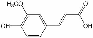 Ferulic acid composition