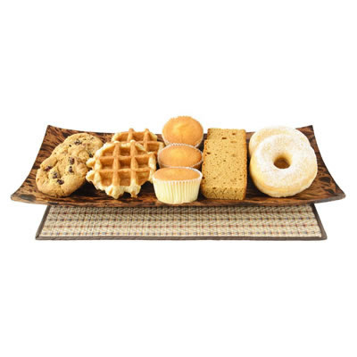 Glucose is used in baking as a sweetening agent in breads, cakes, cookies, pastries, and crackers.