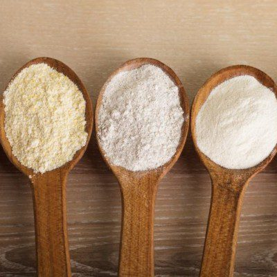 wheat type flour bread products