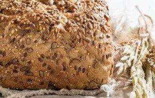 fiber whole grains bread
