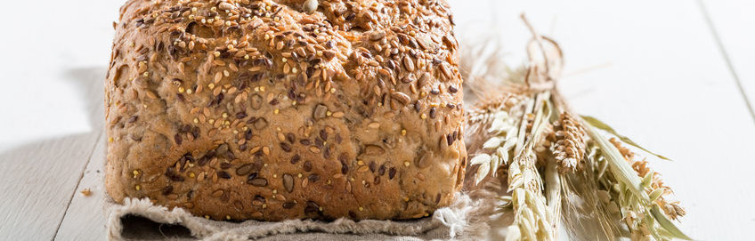 fiber whole grains bread