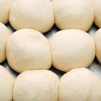 A dough pump is ideal for high-speed production of buns with uniform density.