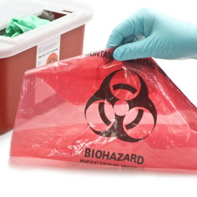 Bio-hazard for body fluid control program