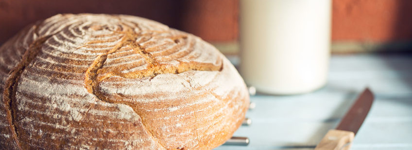 Vitamin D fortified bread can help with deficiency levels.