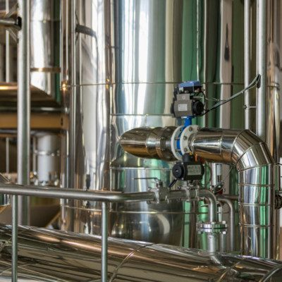Clean-in-place (CIP) is an automatic cleaning technology widely used in food processing industries.