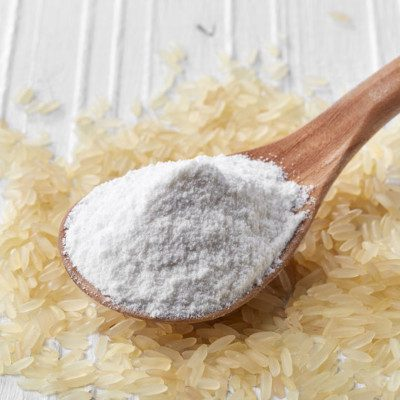 Pre-gelatinized rice flour is used in gluten-free baking, low volume bread, or batters.