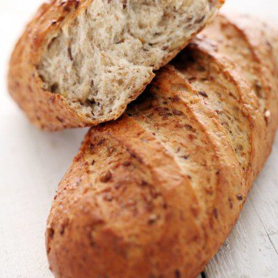 A bȃtard is similar in taste and appearance than baguettes but half the length and slightly wider.