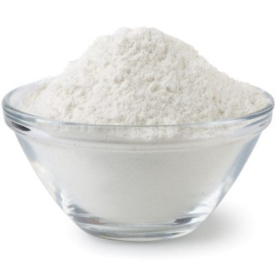 Flour bleaching produces whiter, finer-grain flour.