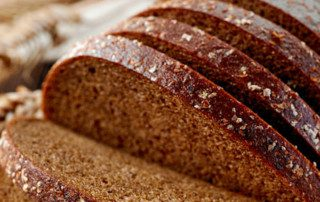 Light and dark rye flour act differently in bread.