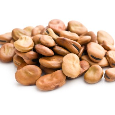 Faba beans can be dried and ground into flour, excellent for high-protein breads and gluten-free baked goods.
