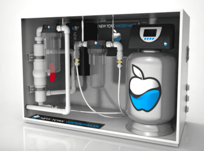 The New York Water Maker is a water source replication system.