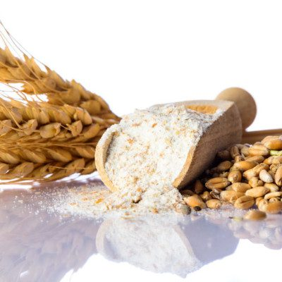 Milling processes can be used for making flour or for extracting gluten and starch (wet milling) from grains and cereals.