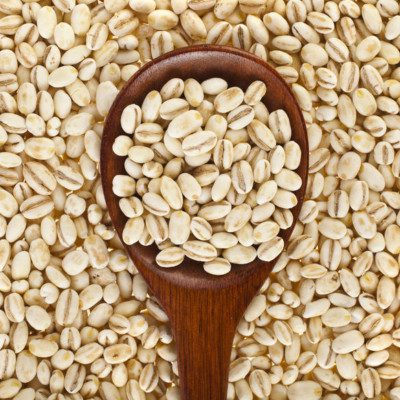 Barley is a flavorful and chewy grain that can be added to breads and other baked goods.