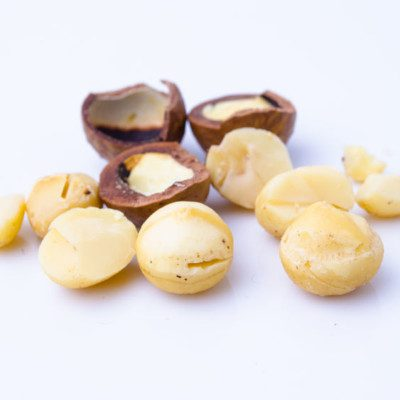 Macadamias are delicate nuts that are tasty on their own or as a premium ingredient in food products.