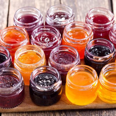 Pectin helps foods gel and stabilize and is used in bakery jams.