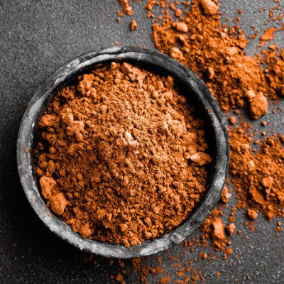 Cocoa powder is a flavorful ingredient for baking.