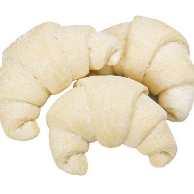Frozen dough is regular dough pieces which have undergone freezing and frozen storage prior to proofing and baking steps.