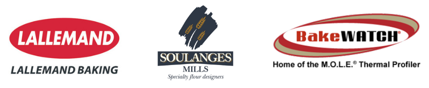 Lallemand Baking, Soulanges Mills and ECD logos.