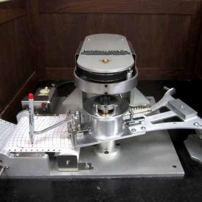 The mixograph is a dough testing equipment used to assess the baking quality of flours from soft, hard and durum wheat.