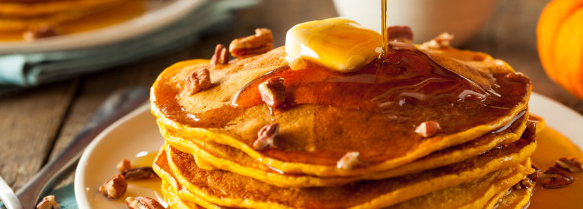 Bake healthier pancakes with sugar cane fiber.
