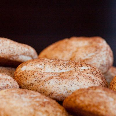 Cream of tartar works well in cookie recipes with high sugar content, such as snickerdoodles.