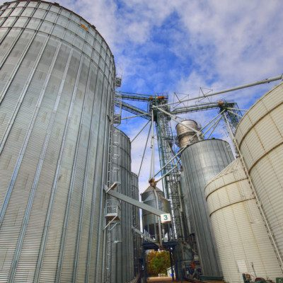 Explosion Mitigation should be for various parts of a manufacturing facility, particularly those areas dealing with handling bulk particulate materials and powders such as grain elevators.