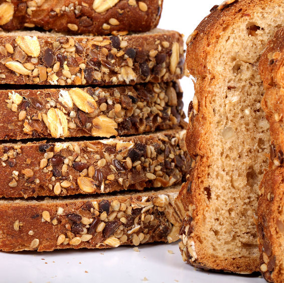 Variety breads are yeast-leavened bakery products that are made from a cereal flour or a combination of cereal flours.