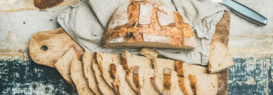 Create a signature bread with sourdough.