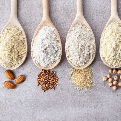 Gluten-free flours or blends are dry mixes that can replace or substitute gluten in bakery products.