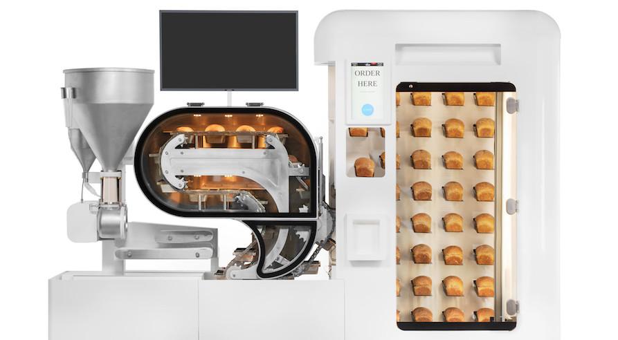 The BreadBot mini bakery.