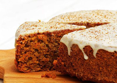 An all time favorite! Our carrot cake recipe is moist, full of texture, and topped with a creamy frosting.