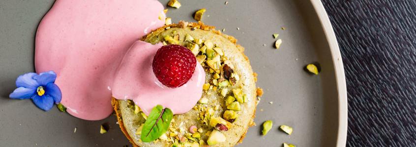 Bake gluten-free desserts with pre-gelatinized rice flour.