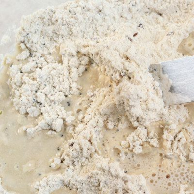 The sedimentation test provides information on the baking quality of wheat flour.