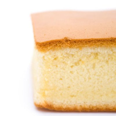 Sponge cake is often used as the base of other desserts.