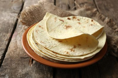 American Key Food Products tortillas made with cassava flour.