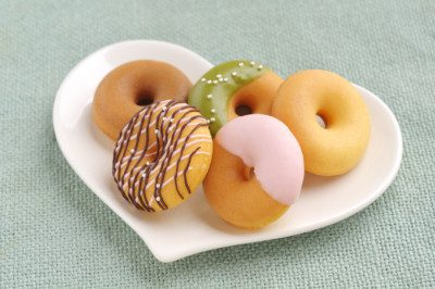 American Key Food Products donuts made with rice flour.