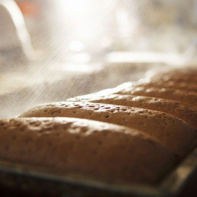 The relative humidity impacts the quality and texture of baked goods.