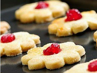 Delicious, melt in your mouth cookies! These are the perfect butter cookies for the holiday season! Cover them in chocolate and you'd create a masterpiece.
