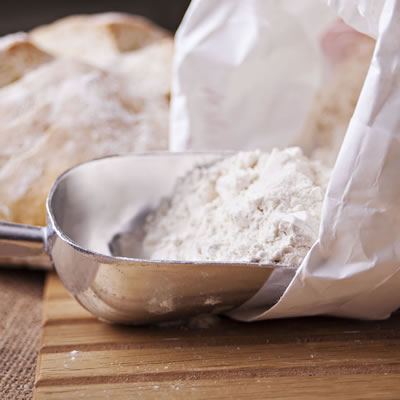 Bread flour is a high-protein flour specifically milled for use in yeasted breads.