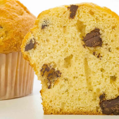 Chemical leavening causes products such as muffins to rise.