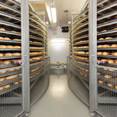 Bread cooling is an integral part of high-speed bread production.