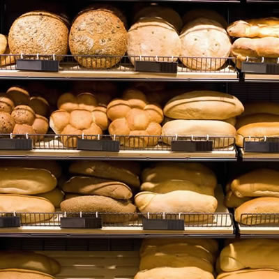 Shelf life extension is essential for commercially baked bread.